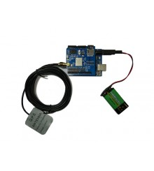 Arduino GPS Shield GPS Expansion Board with UNO board and Antenna